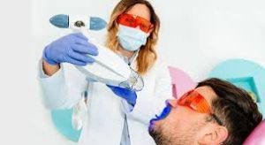 ллазерное отбеливание зубов